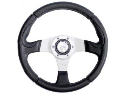 Sportovní volant LUISI  - Century sport střibrný 340mm