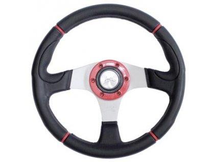 Sportovní volant LUISI -  Century sport červeny 340mm
