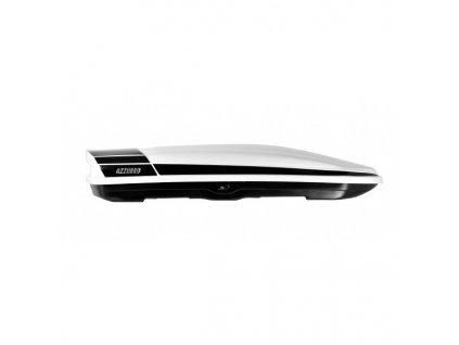 Střešní box AZZURRO BOX BIG 460 Bílo-černý lesklý