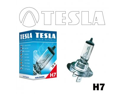 Automobilová žárovka TESLA  H7 12V PX26d Standardní
