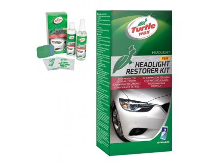 Turtle Wax HEADLIGHT RESTORE KIT  Sada na obnovu světlometů TW-7606-690