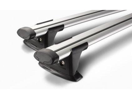WHISPBAR - Nosiče s přesahem (Through Bar) S15  délka tyčí 2 x 1100 mm
