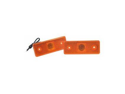 Zadní obrysové světlo LED, oranžové 24V