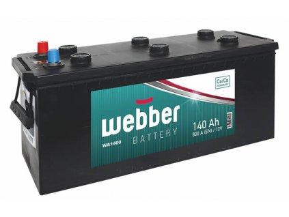 Autobatéria WEBBER 12V, 140AH, 800A, akumulator
