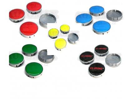 Středy kol barevné 2
