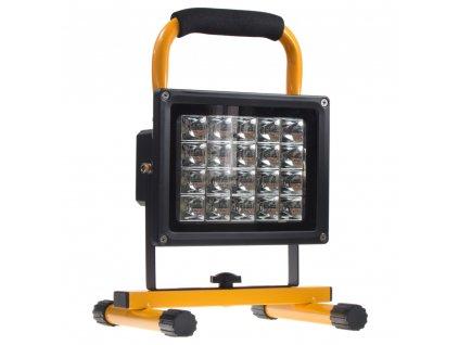 AKU LED světlo přenosné, 20x1W, 300x210x185mm