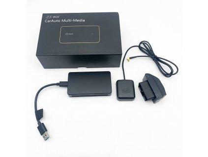 """AHD monitor 7"""" s integrovanou přední kamerou + 1x4PIN vstup, DVR"""