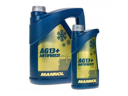 MANNOL Antifreeze AG13+ Advanced chladící kapalina koncentrát -80°C