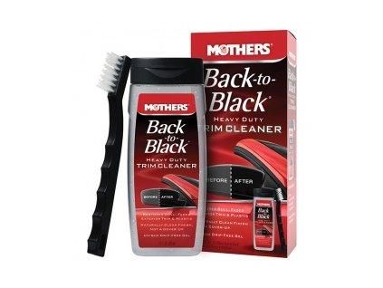 Mothers Back to Black Heavy Duty Trim Cleaner Kit nejúčinější čistič plastů, 355 ml