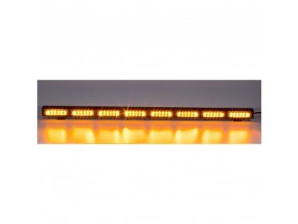 LED alej voděodolná (IP67) 12-24V, 48x LED 3W, oranžová 970mm