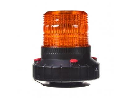 AKU LED maják, 60x0,5W oranžový, magnet ECE R10