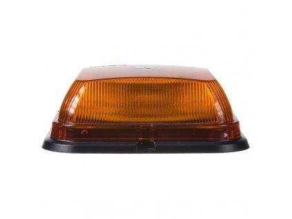 LED maják, 12-24V, 164 x 164mm, 64LED oranžový fix, ECE R10 R65