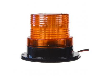 LED maják, 12-110V, oranžový, 20xSMD5730 fix