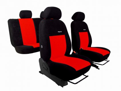 Autopotahy SEAT IBIZA V, od r. 2017, ELEGANCE červené