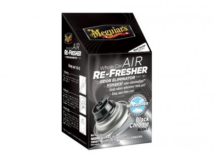 Meguiar's Air Re Fresher Odor Eliminator Black Chrome