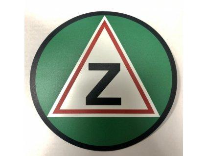 Magnetické Z - začátečník na auto velké