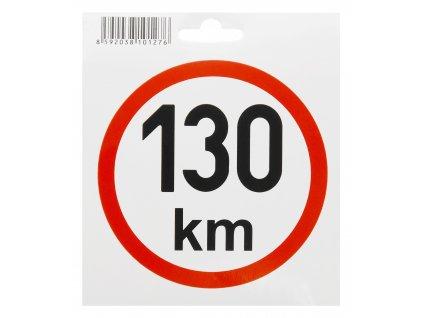 COMPASS Samolepka omezená rychlost 130km/h (110 mm)