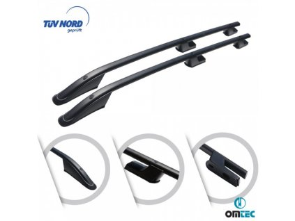 vyr 847fiat fiorino alu roof bars 2 pcs black sport