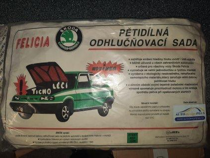 MIKRA - Odhlučňovací pětidílná sada Škoda Felicia