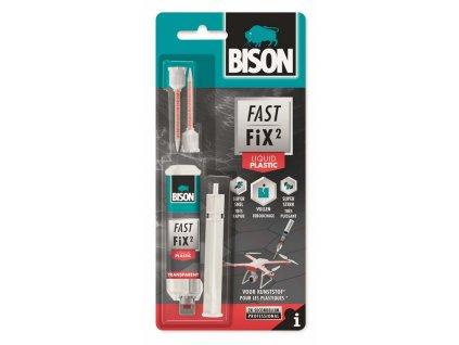 BISON FAST FIX PLASTIC l Extrémě silné dvousložkové lepidlo   10g