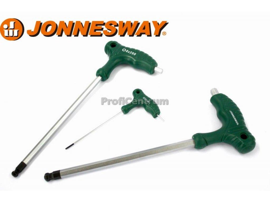 Klíč imbus, T-Imbus s kuličkou, 5x150mm, 2X100mm JONNESWAY