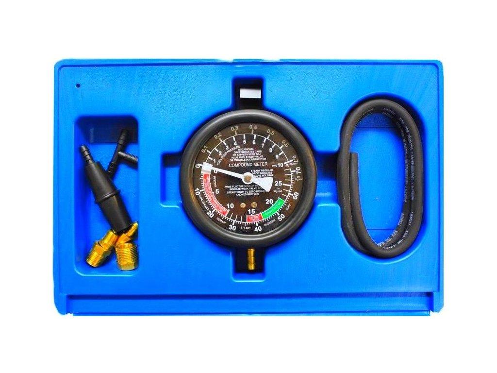 TESTER NA TLAK/PODTLAK PRO Tester na tlak a podtlak palivových čerpadel s manometremMANOMETR