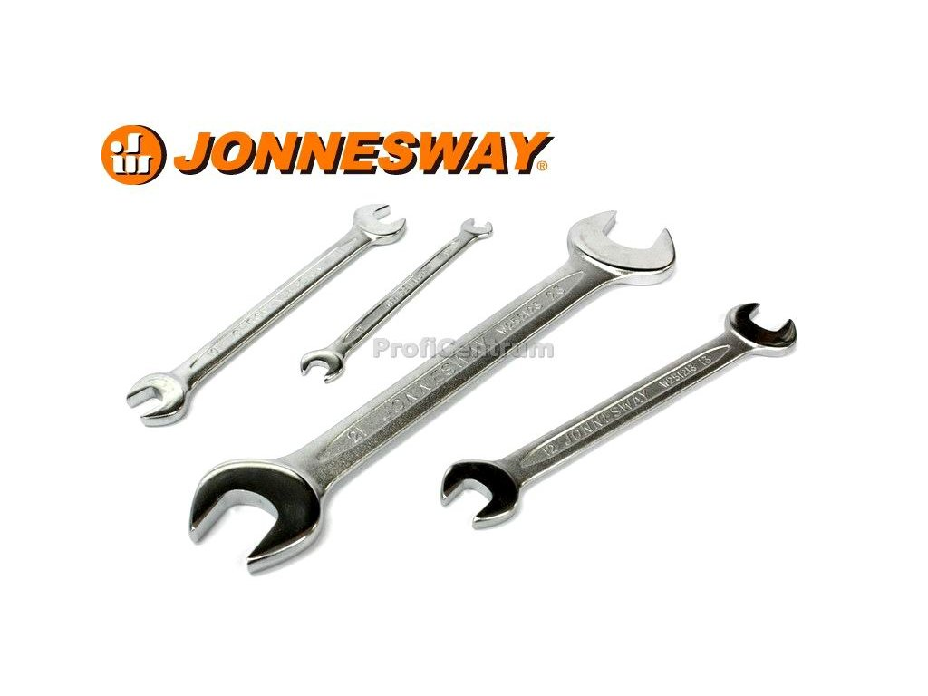 Plochý klíč otevřený 17x19 mm JONNESWAY