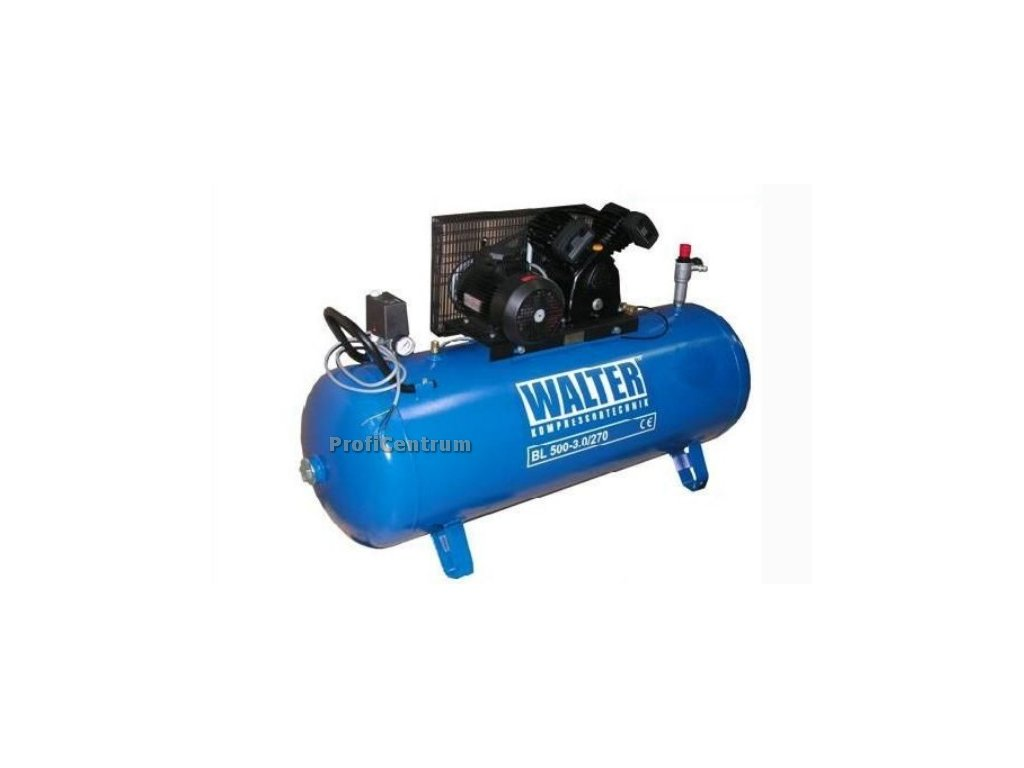 Kompresor 2-válcový 270l 3KW 9 bar Walter