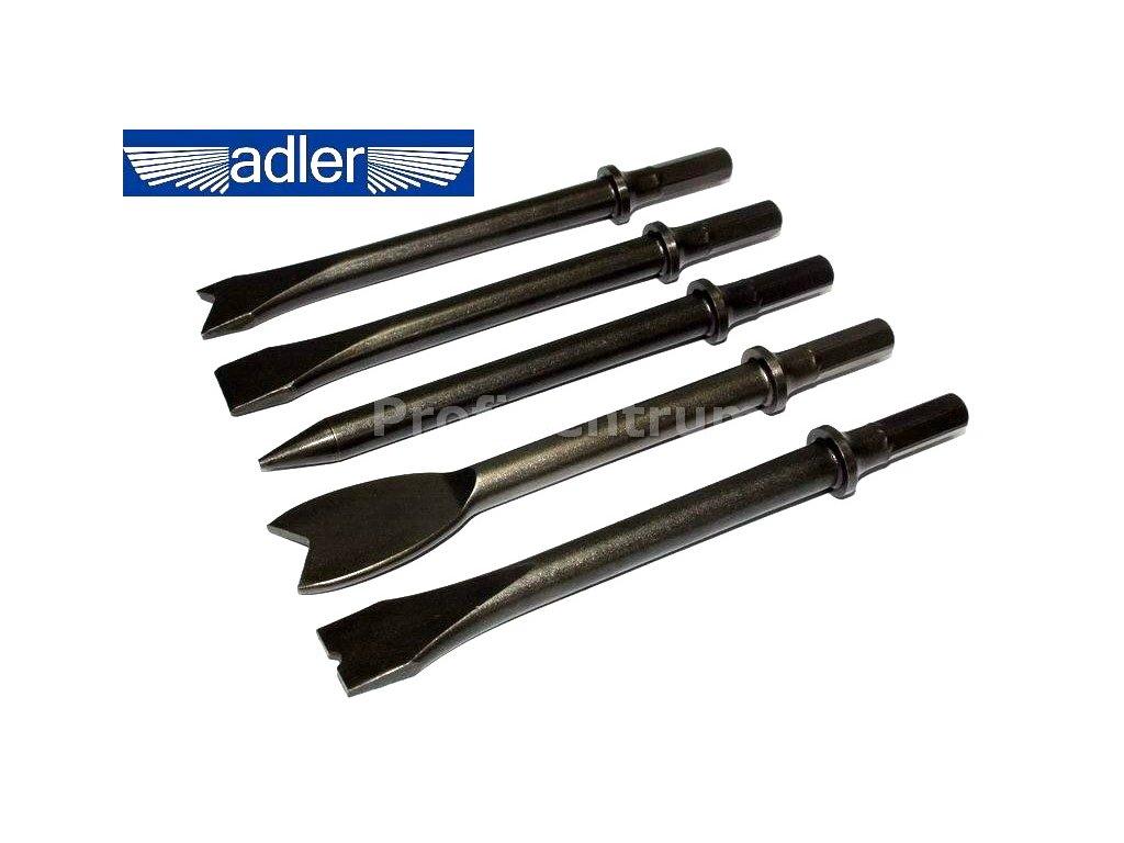 Hroty pro úderové pneumatické kladivo 175 mm Adler