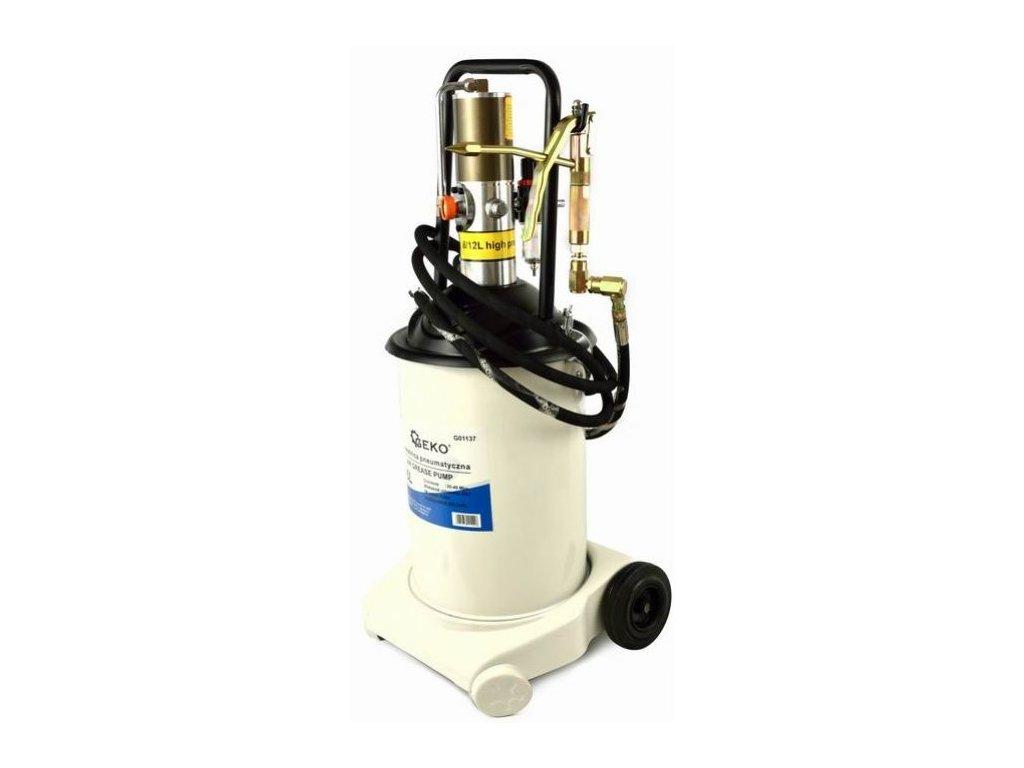 Pneumatická maznice pojízdná 16L 17kg, pumpa na mazivo