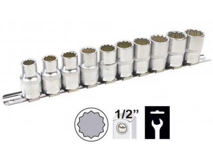 Gola hlavice 10-19mm 1/2'' 12-hran