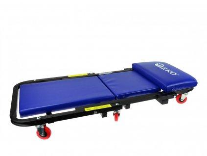 Skládací montážní lehátko pojízdné 2 v 1
