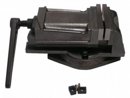 Otočný svěrák strojový 80mm úchyt Q 12