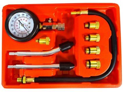 Kompresiometr pro benzínové motory,tester na diagnostiku kompresního tlaku 0-20 BAR