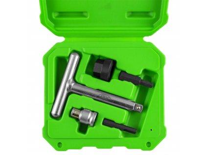 Univerzální sada klíčů na plastové zátky olejových výpustí VW, AUDI, FORD, PSA