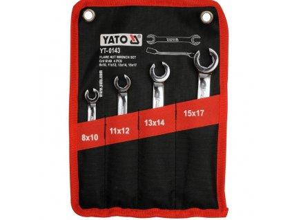 Klíče na převlečené matice YATO YT-0143