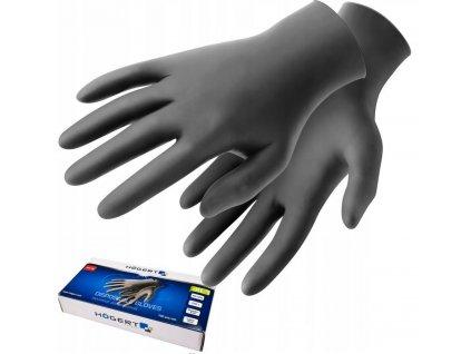Nitrilové Ochranné rukavice S 100 ks. Atest CE