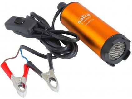 Elektrické mini čerpadlo na maziva oleje vodu 12V 60W SATRA