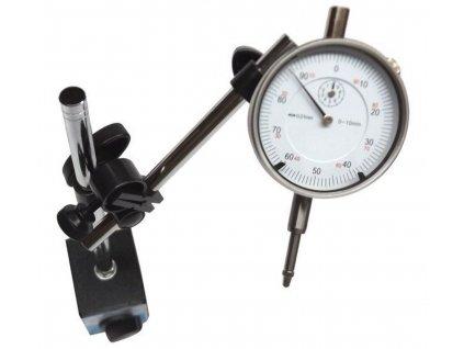 Magnetický stativ + Úchylkoměr 0 10 mm 0,01 mm