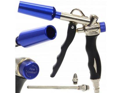 Ofukovací pistole 1 4 s Venturi tryskou + 3 trysky