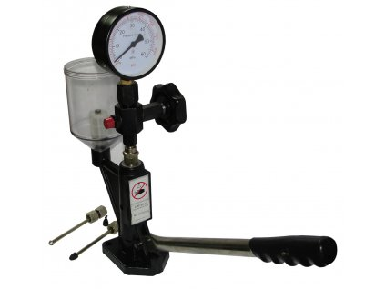 Tester na vstřikovače 600 BAR, zkoušečka vstřiků naftových motorů , Tester-sonda na vstřikovače k regulaci a kontroly tlaku, úrovně rozptylu a kontroly těsnosti vstřiků, aby poskytovala vynikající výkon a spotřebu paliva a výkon motoruM57686