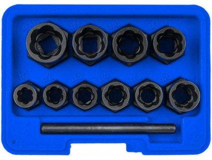 Nástrčné hlavice klíče na vytažení poškozených šroubů 9 19mm