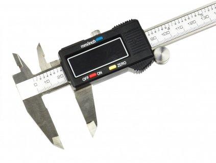 Digitální šuplera, elektronické posuvné měřítko 0 150mm 0,01