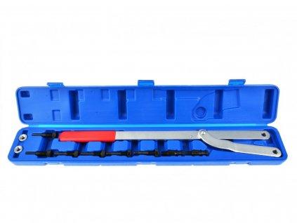 Klíč nástavný na nastavení rozvodových kol, 40 220mm s adaptéry