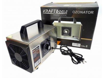Generátor ozónu je určen k dezinfekci a ozonizaci vzduchu, místností nebo automobilů.