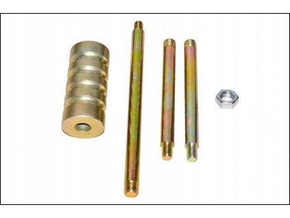 Vyrážecí kladívko na vstřiky, demontáž vstřikovačů M12, M16, FI50, 1,5 Kg Mark-Moto