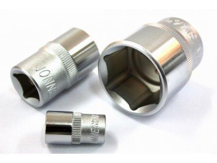 """Nástrčný klíč násadka 4-12mm 1/4"""" 6 hran"""