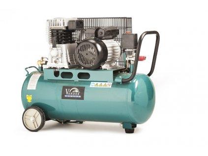 Olejový kompresor 50L 2-pístový 1.5 Kw/2 HP Vander