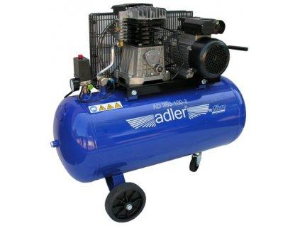 Kompresor 2-válcový 10 bar 100l Adler