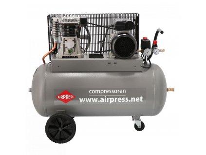 kompresor dvou pistovy 90l Kompresor 2-pístový HL375-100 PRO AIRPRESS